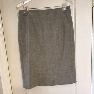 NWT Banana Republic wool skirt